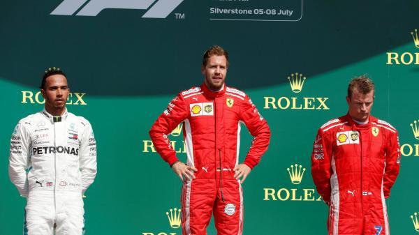 Формула-1: Феттель завоевал победу в Британии