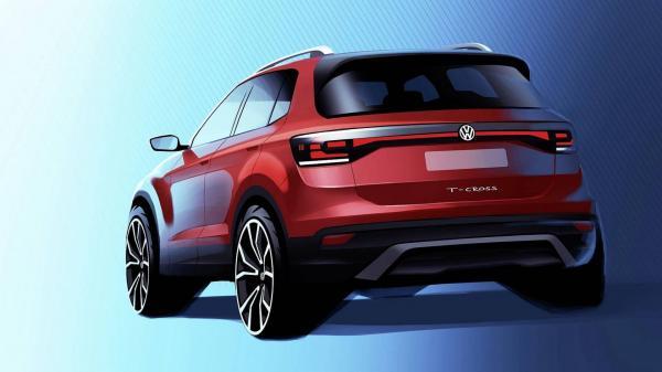 Самый маленький вседорожник Volkswagen покажут в Париже