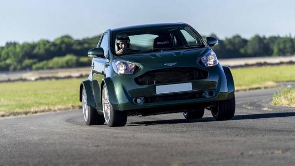 Aston Martin V8 Cygnet: мощный малыш