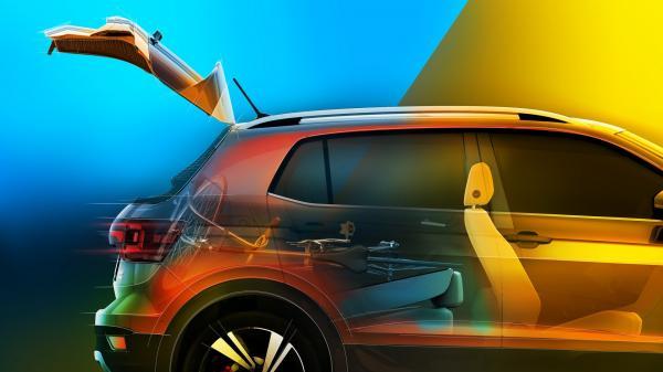 Официальные изображения нового Volkswagen T-Cross