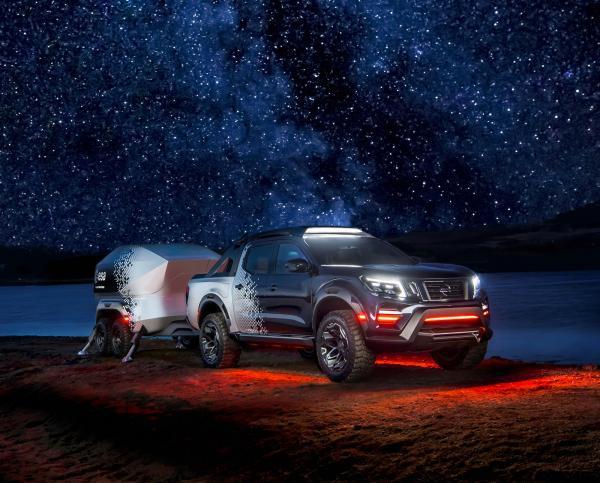Новый Nissan Navara превратили в обсерваторию на колесах