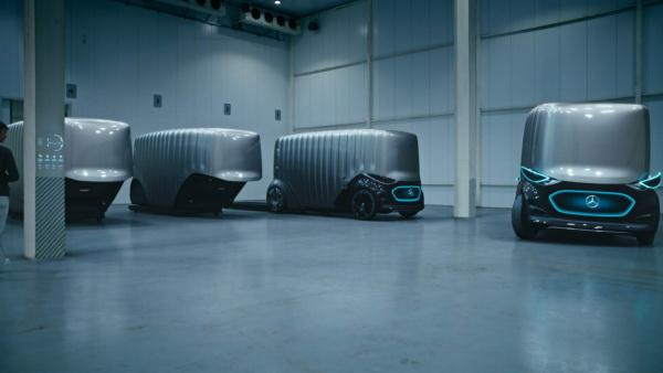 Mercedes-Benz Vision Urbanetic: автономный и многофункциональный