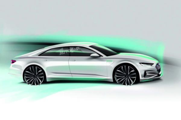 Audi выпустит электрический представительский седан