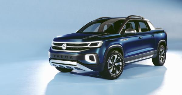Volkswagen Tarok: предвестник нового пикапа