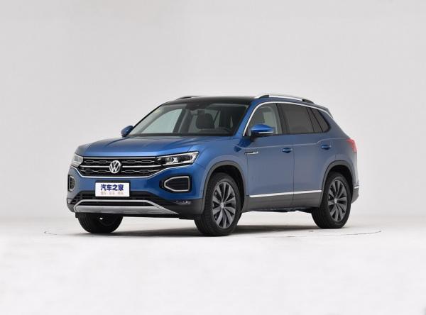 Volkswagen Tayron: яркий собрат Tiguan