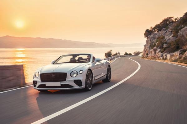 Bentley Continental GT Convertible: в ожидании весны