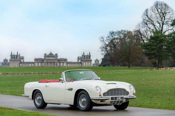 Классический Aston Martin превратили в электромобиль