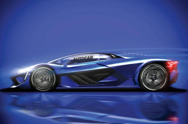 Новый флагман Lamborghini станет гибридом