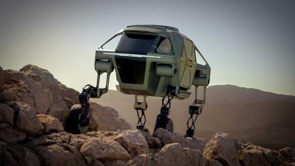 Hyundai создали автомобиль с ногами