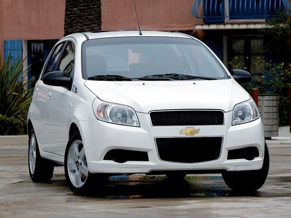 Chevrolet Aveo: обновленный для Европы