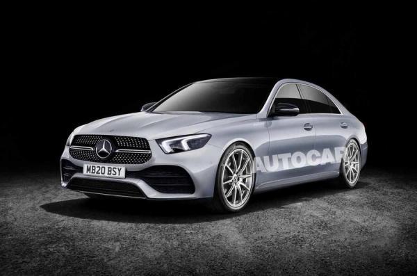 Новый Mercedes-Benz S-Class полностью «электрифицируют»