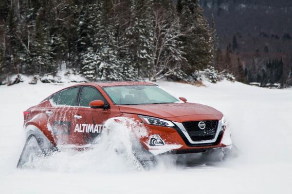Nissan Altima подготовили к самым суровым зимам
