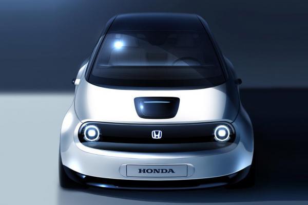 Компактный электромобиль Honda покажут в Женеве