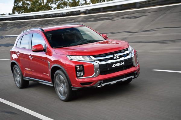 Mitsubishi ASX обновили в третий раз