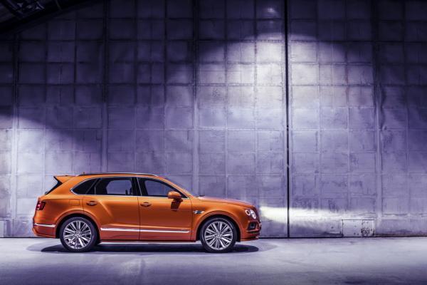 Bentley Bentayga Speed: прибавка в мощности