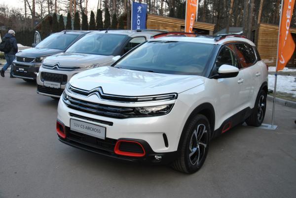 В Украине презентовали новые модели концерна PSA Group