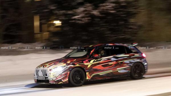 Самый мощный Mercedes-Benz A-Class заметили на тестах