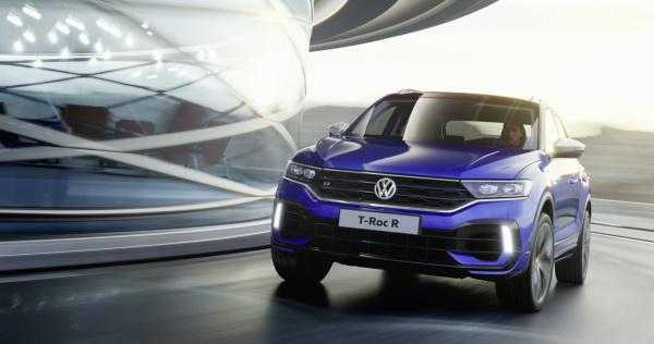 Volkswagen T-Roc R: вседорожник с характеристиками купе