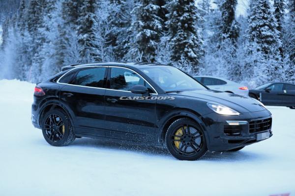 Купеобразный Porsche Cayenne дебютирует в этом месяце