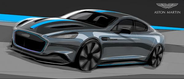 Электромобиль Aston Martin станет авто Джеймса Бонда