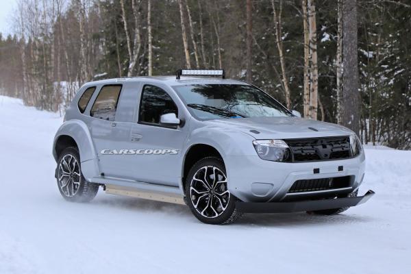 Renault испытывает электрический Duster