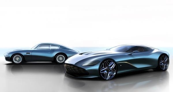 Aston Martin представит новое лимитированное купе