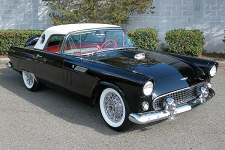 Ford Thunderbird: тень