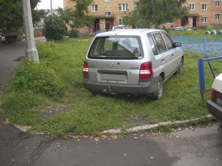 Киев. Штрафы за неправильную парковку возрастают