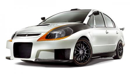 Suzuki SXForce Concept: смесь седана и мотоцикла