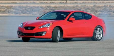 Hyundai Genesis Coupe: первое заднеприводное купе от Hyundai