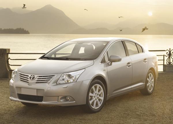 В Украине дебютирует новое поколение Toyota Avensis