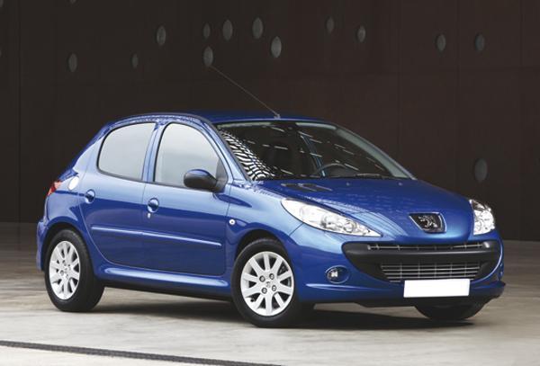 Peugeot 206 остается в строю