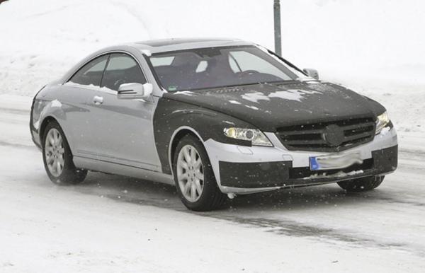 Обновленный Mercedes-Benz S-Class Coupe
