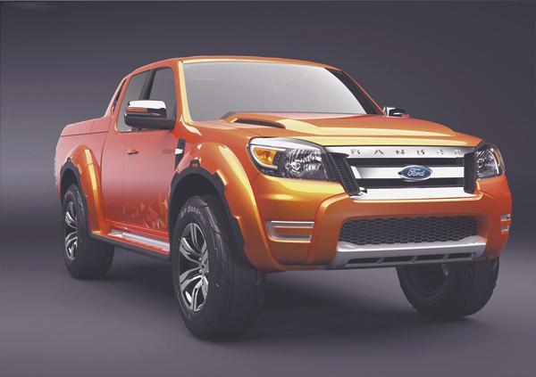 Ford Ranger Max Concept – яркая версия рабочего пикапа