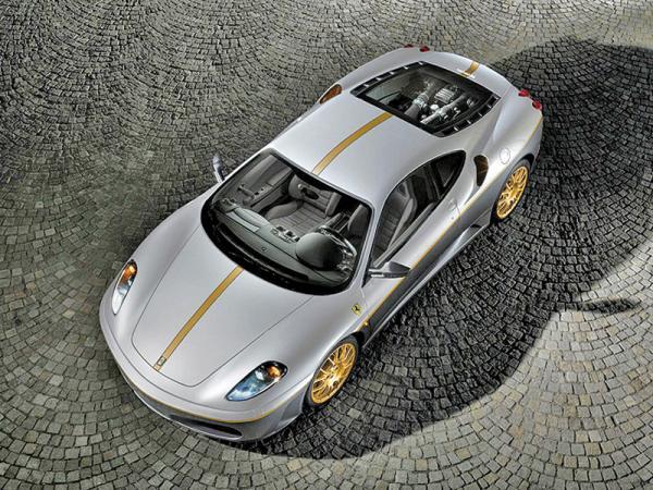 Ferrari F430 поможет преодолеть последствия землетрясения