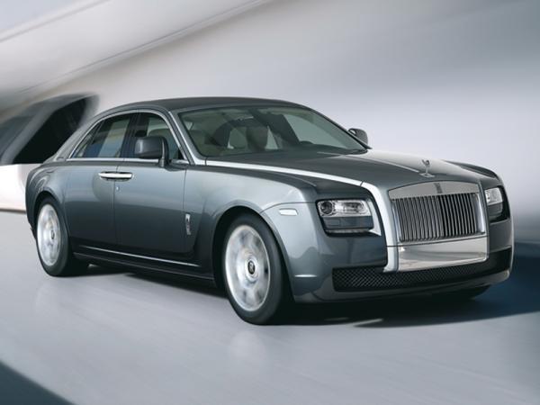 Rolls-Royce Ghost станет  гибридом