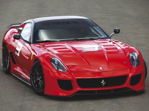В Ferrari готовят новое купе 599 GTO