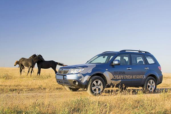 Subaru Forester бьет рекорды продаж