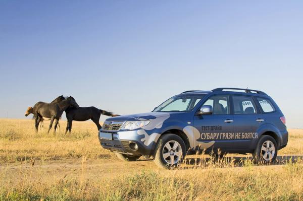 Subaru Forester едет на рекорд!