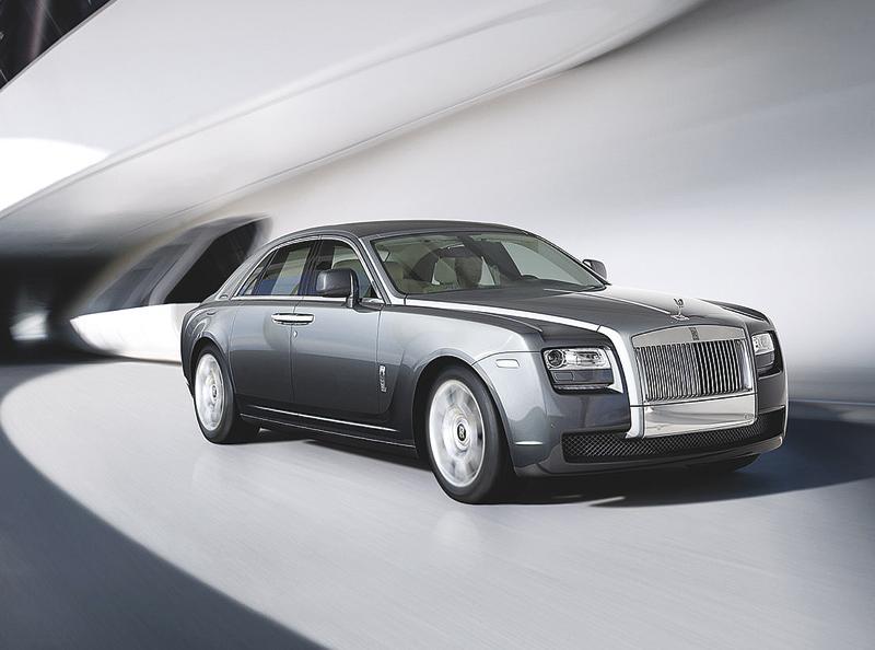 Rolls-Royce Ghost: элегантный призрак
