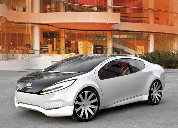 Kia Ray Concept: электрический скат