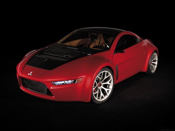 Mitsubishi Concept RA: спортивное купе с заботой об экологии