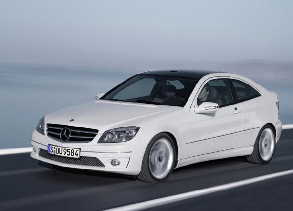 Mercedes-Benz CLC: купе и три двери