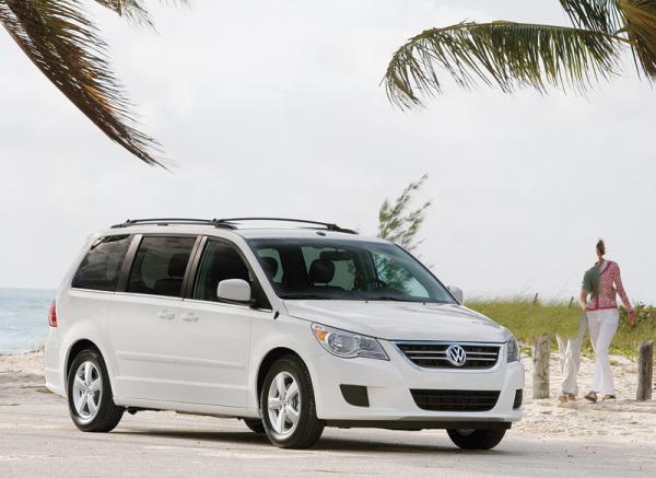 Volkswagen Routan: американский народный мини-вэн