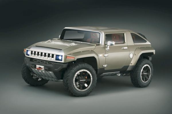 Hummer HX Concept: вседорожник для молодежи