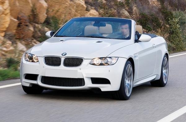 BMW M3 Convertible: наслаждение свежим воздухом