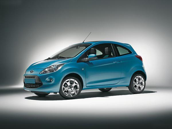 Ford покажет  новый Ka