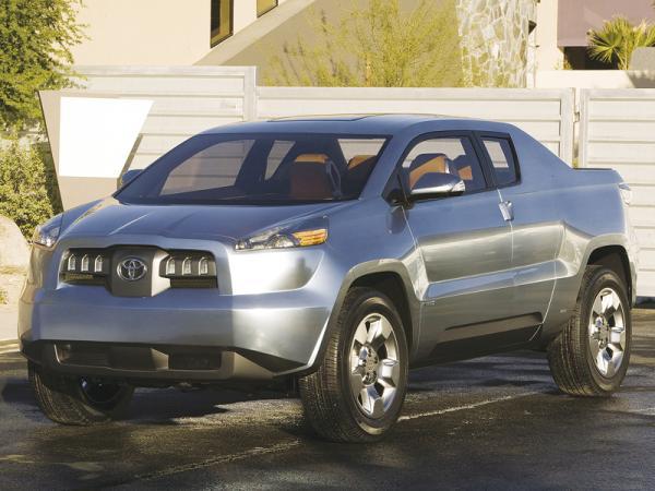 Toyota A-BAТ: пикап для любителей активного образа жизни