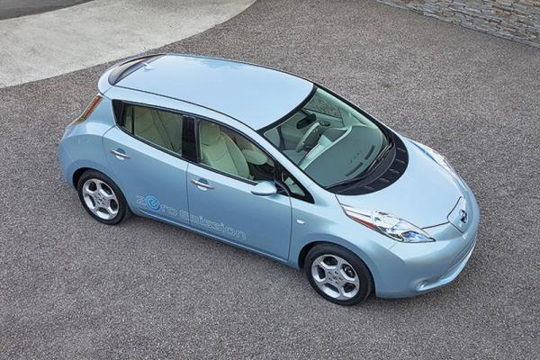 Nissan Leaf станет серийным электромобилем