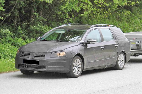 Volkswagen Passat Estate 2012 года